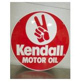 23IN KENDALL MOTOR OIL SIGN