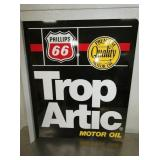 20X24 PHILLILPS 66 ARTIC OIL FLANGE SIGN