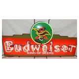 BUDWEISER BEERS NEON SIGN