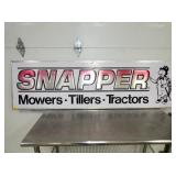 21X71 EMB. SNAPPER SIGN W/ TURTLE