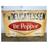 37X57 DR. PEPPER BUBBLE STATION SIGN