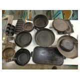 EARLY CAST IRON COOK WEAR