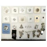 COLLECTION OF VARIOUS STERLING SILVER ITEMS