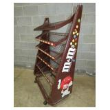 M&M DISPLAY RACK