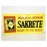 14X28IN EMBOSSED SAKRETE SIGN