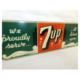 VIEW 2 MASONITE 7UP SIGN