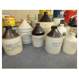 COLLECTION OF STONE WAR JUG