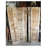 6 FOOT PRIMITIVE SHUTTERS