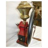 VIEW 2 COFFEE GRINDER WITH BRASS HOPPER