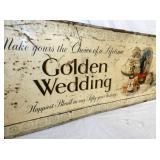 VIEW 3 LEFT SIDE GOLDEN WEDDING
