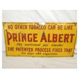 12/24IN EMBOSSED Prince Albert SIGN