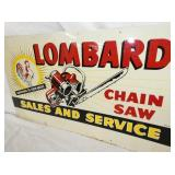 VIEW 2 LOMBARD CHAIN SAW WITH CHICKEN