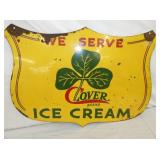 20/28 CLOVER ICE CREAM SIGN