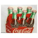 11X13 ORIG. DIE CUT COKE CARTON SIGN