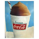 VIEW 2 CLOSE UP COKE FROSTIE SIGN