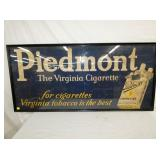 29X61 CLOTH PIEDMONT TOBACCO SIGN