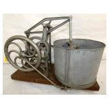 RARE UNUSUAL HAND CRANK FOOD CHOPPER