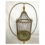 VIEW 2 CLOSEUP BIRDCAGE W/ STAND