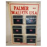 OLD STOCK PALMER WALLETS DISPLAY
