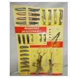 OLD STOCK BATES MANICURE STORE DISPLAY