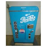 UNUSUAL LIFT TOP PEPSI COOLER