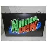 15X25 MT DEW LIGHTUP SIGN
