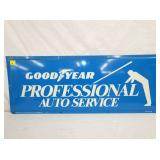 14X36 1975 GOODYEAR SERVICE SIGN