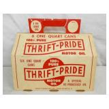 6 ONE QUART THRIFT-PRIDE HOLDER
