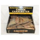 14X14 CARTER CARBURETER COUNTER DISPLAY