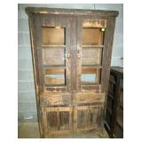 OAK FLATWALL PIE SAFE