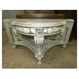 SHABBY SHEEK ORNATE FOYER TABLE