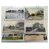 EARLY POST CARD ALBUM