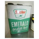 1G. SINCLAIR AUTO OIL CAN
