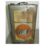 2G. GULF OIL CAN
