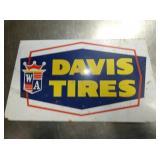 DAVIS TIRES SIGN