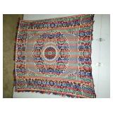 SUPER CLEAN EARLY HANDMADE COVERLET