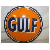 10 IN. PORC. GULF SIGN