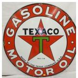 VIEW 2 OTHERSIDE 48IN TEXACO SIGN