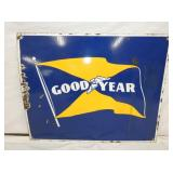 24X30 PORC. GOODYEAR FLAG SIGN