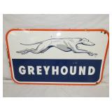 24X40 PORC. GREYHOUND SIGN