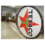 VIEW 3 OTHERSIDE 6FT. TEXACO SIGN POLE