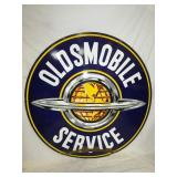VIEW 3 OTHERSIDE PORC. OLDSMOBILE SERVICE SIGN