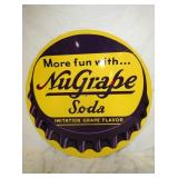 36IN UNGRAPE SODA CAP SIGN