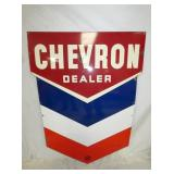 38X53 PORC. CHEVRON DEALER SIGN