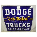 VIEW 2 OTHERSIDE PORC. DODGE TRUCK DEALER SIGN