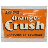 20X28 ORANGE CRUSH BEVERAGE SIGN