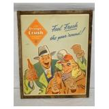 26X32 ORANGE CRUSH CARDBOARD