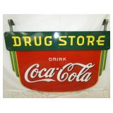 VIEW 3 OTHERSIDE PORC. DRUGSTORE COKE SIGN