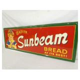 VIEW 4 RIGHTSIDE EMB. SUNBEAM BREAD SIGN