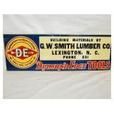 10X27 EMB. DIAMOND EDGE TOOL/HARDWARE SIGN